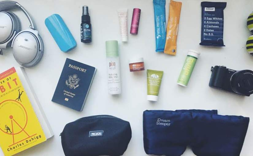 My Favorite Products + Tips for Healthy Traveling